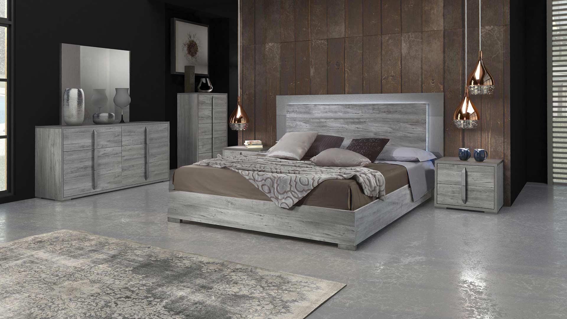 evelyn zona Notte Moderno legno